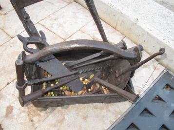 Forja Cal Biel - Caixa d'eines del fuster i el carreter.