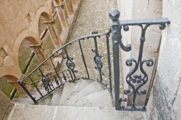 Forja Cal Biel - Barana d'accés als antics dormitoris.