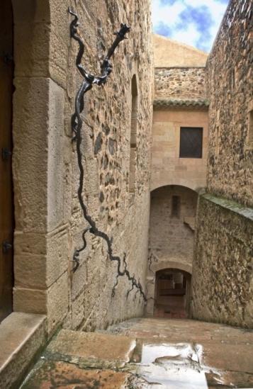 Forja Cal Biel - Barana del museu de la restauració.