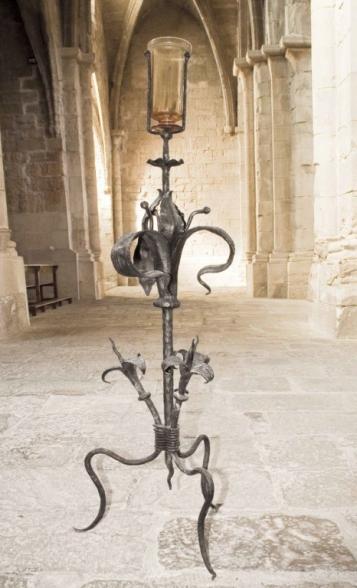 Forja Cal Biel - Canelobre capella del Santíssim.