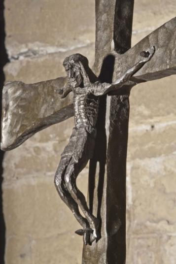 Forja Cal Biel - Crucifix de la capella de Santa Úrsula.