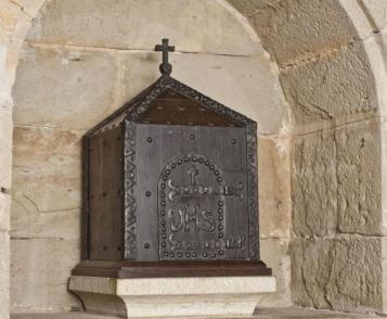 Forja Cal Biel - Sagrari capella de Sant Esteve.