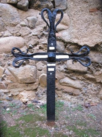 Forja Cal Biel - Creu cementiri de Poblet.